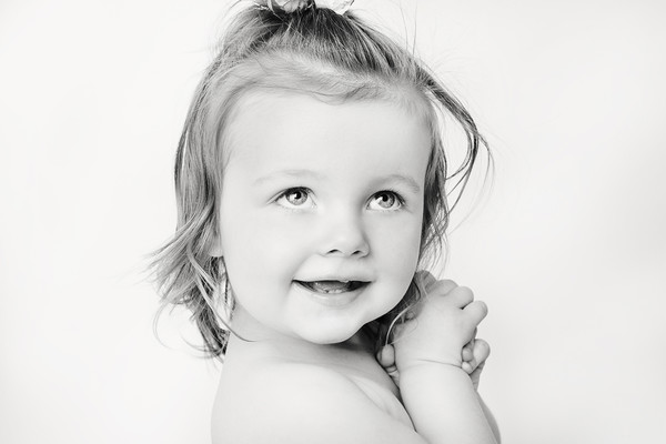 Chanelle's children's portrait taken by our Auckland child and family photographer