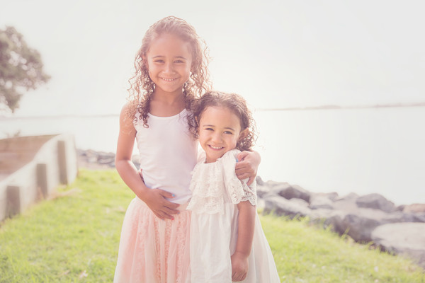 Tania and Leni came to see our Auckland child photographer for their kids photos