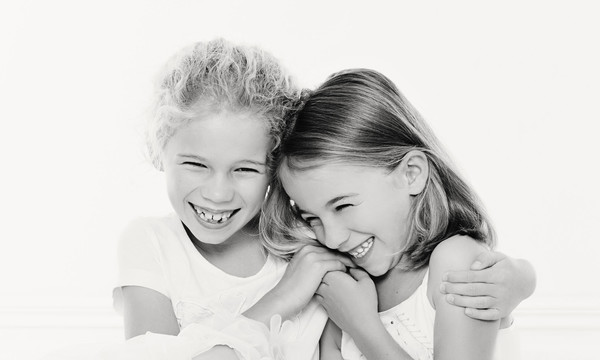 kids photos of two girls taken by our Auckland family photographer