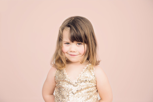 Kids photo of Piper taken by our Auckland family photographer on the North Shore