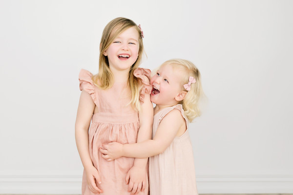 Alanas girls photo taken by our child photographer Auckland Milk photography studio